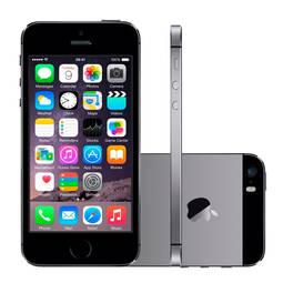 Iphone 5s 16gb Cinza Espacial 4g Tela 4 Câmera 8mp Ios 8