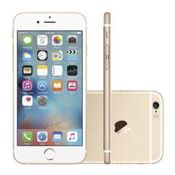 Iphone 6s 128gb Dourado 4g Tela 4,7 Câmera 12mp Ios 9