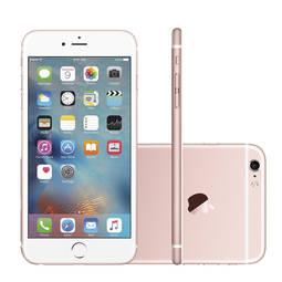 Iphone 6s Plus 16gb Ouro Rosa 4g Tela 5,5 Câmera 12mp Ios 9