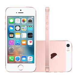 Iphone Se 64gb Ouro Rosa 4g 4.0 12mp Ios 9.3