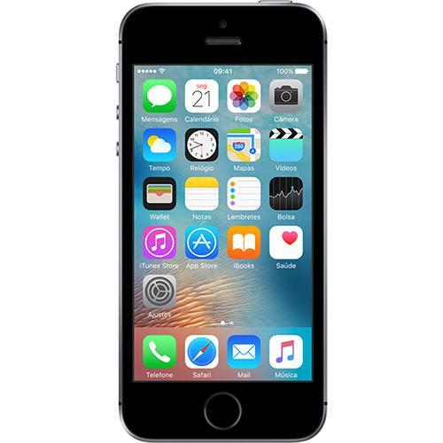 Iphone Se 64gb Câmera 12 Mp Cinza Espacial (aat)