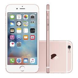 Iphone 6s 128gb Ouro Rosa 4g Tela 4,7 Câmera 12mp Ios 9