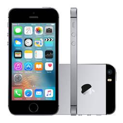 Iphone Se 16gb Cinza Espacial 4g 4.0 12mp Ios 9.3