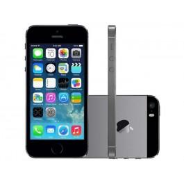 Iphone 5s 16gb, Tela 4,4g, Câmera 8mp + Frontal Ios 8 Proc. M7 Touch, Cinza Espacial - Apple