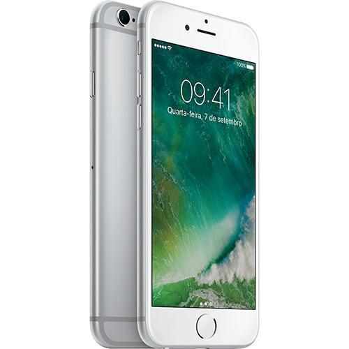 Iphone 6s Plus 128gb Prata Tela Retina Hd 5,5\ 3d Touch Câmera 12mp - Apple