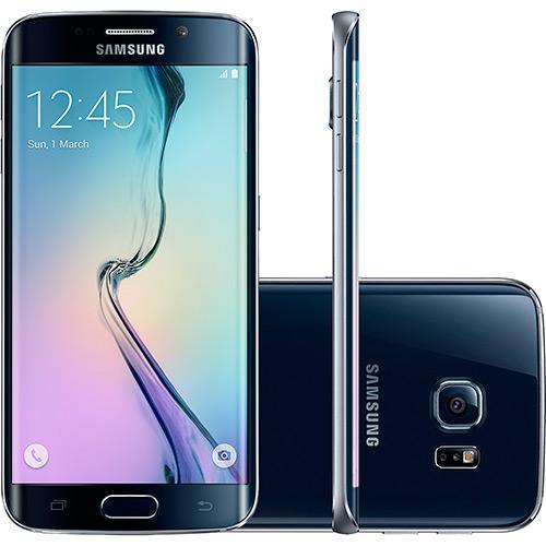 Samsung Galaxy S6 Edge Preto Desbloqueado 64gb 4g Android 5.0 Tela 5.1\ Octa-core Câmera 16mp