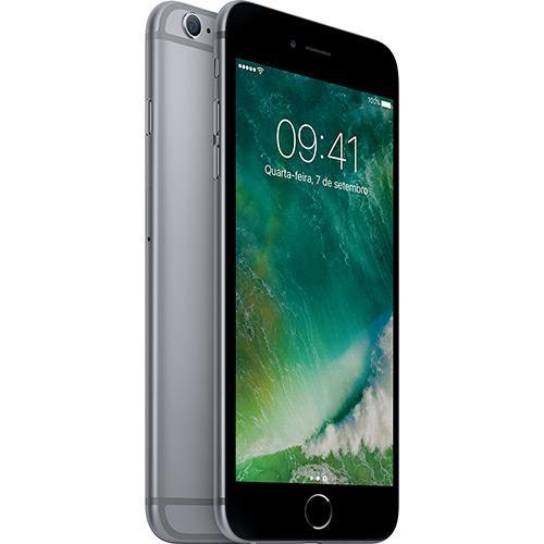Iphone 6s Plus 128gb Cinza Espacial Desbloqueado Ios 9 4g 12mp - Apple
