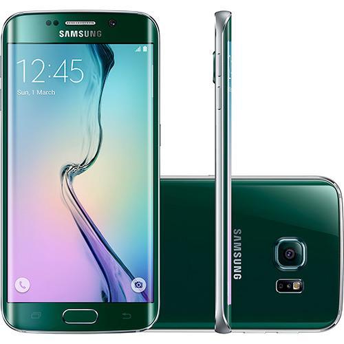 Samsung Galaxy S6 Edge Verde Desbloqueado 64gb 4g Android 5.0 Tela 5.1\ Octa-core Câmera 16mp
