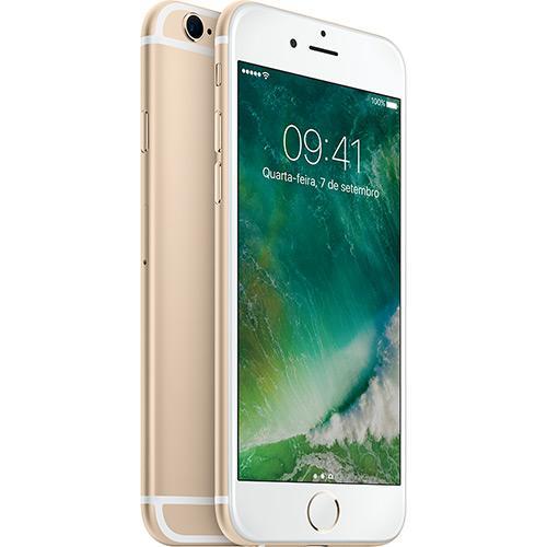 Iphone 6s Plus 128gb Dourado Tela 5.5\ Ios 9 4g 12mp - Apple