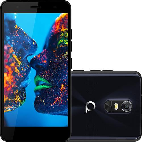 Smartphone Quantum Muv Pro 16gb 4g Android 6.0 Tela 5.5\ Câmera 16mp Azul Escuro