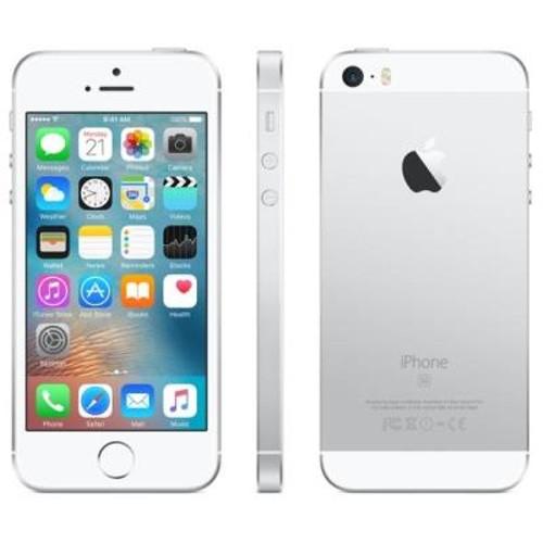 Iphone Se Mlm72bz/a Ios Tela 4.0\ 64gb 4g 12mp Prata - Apple 0000071856698