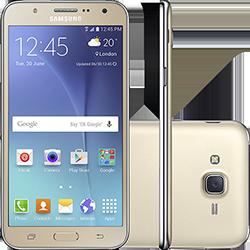 Smartphone Samsung Galaxy J7 Duos Dual Chip Android 5.1 Tela 5.5\ 16gb 4g Câmera 13mp - Dourado