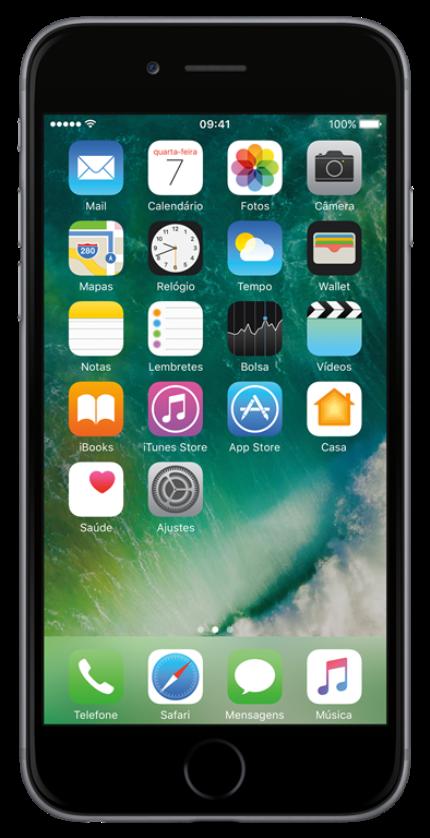 Iphone 6 16gb Cinza Espacial Apple