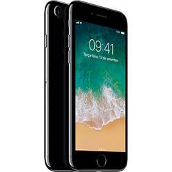 Iphone 7 256gb Preto Brilhante Desbloqueado Ios 10 Wi-fi + 4g Câmera 12mp - Apple