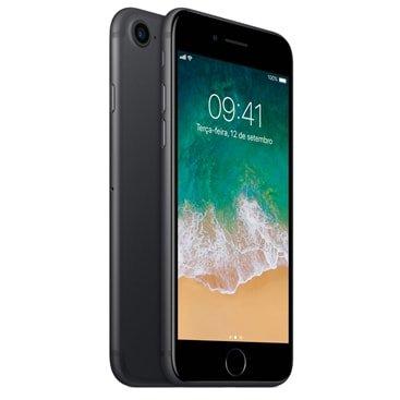 Iphone 7 Apple Preto Matte 128gb, Desbloqueado - Mn922br/a