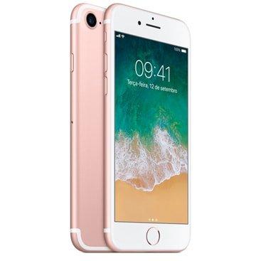 Iphone 7 Apple Ouro Rosa 128gb, Desbloqueado - Mn952br/a