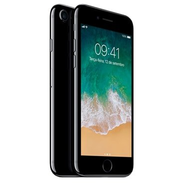 Iphone 7 Apple Preto Brilhante 128gb, Desbloqueado - Mn962br/a