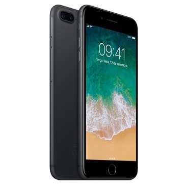 Iphone 7 Plus Apple Preto Matte 32gb, Desbloqueado - Mnqm2bz/a