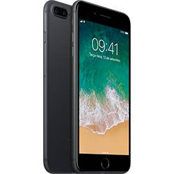 Iphone 7 Plus 32gb Preto Matte Tela Retina Hd 5,5\ 3d Touch Câmera Dupla de 12mp - Apple