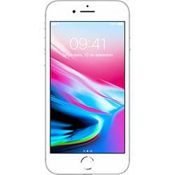 Iphone 8 Plus Prata 256gb-bra Tela 5.5\ Ios 11 4g Wi-fi Câmera 12mp - Apple