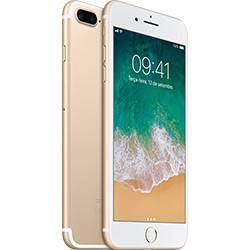 Iphone 7 Plus 32gb Dourado Tela Retina Hd 5,5\ 3d Touch Câmera Dupla de 12mp - Apple