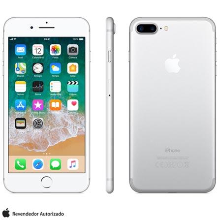 Iphone 7 Plus Prata, Com Tela de 5,5\u201d, 4g, 128 Gb e Câmera de 12 Mp - Mn4p2bz\/a Bivolt
